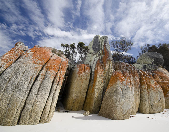 Bay of Fires rock formation