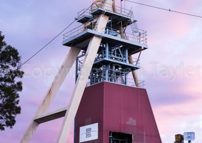 Beaconsfield mine head frame