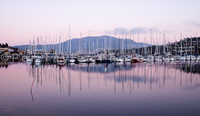 Dawn at the Bellerive Marina
