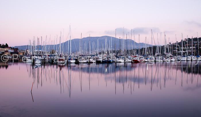 Dawn at the Bellerive Marina