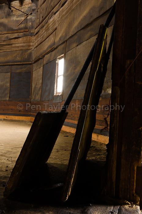 02. Hop scoops on the drying floor, Glenleith