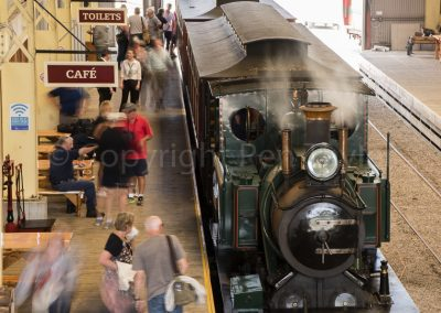 Queenstown - railway station