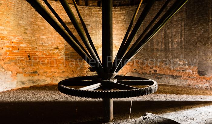 Revolving kiln mechanism
