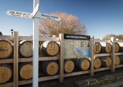Richmond - Wine Wall
