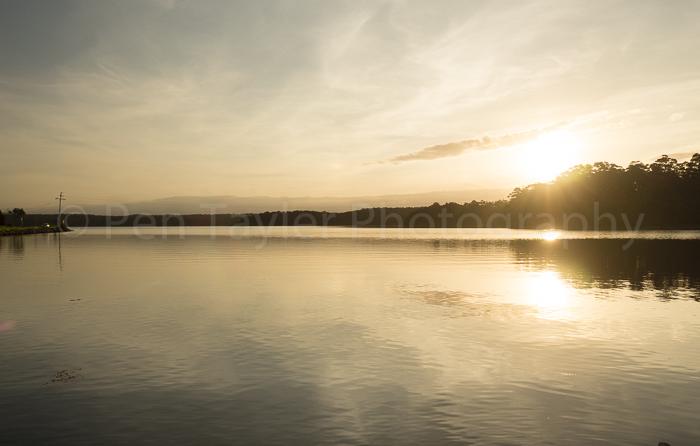 Sunset at Wallaga Lake NSW