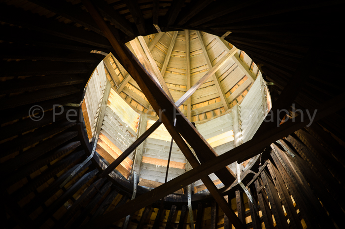 View into the turret, Valleyfield